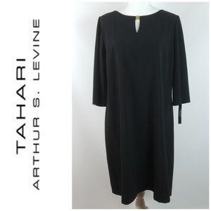 Tahari Arthur S Levine Shift Dress